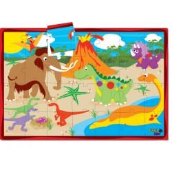 Puzzle Dino Friends