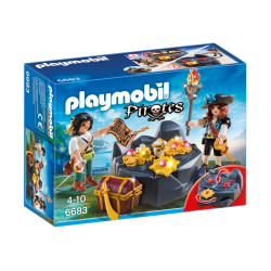 Playmobil Pirates et trésor royal
