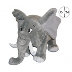 Doudou Elephant gris