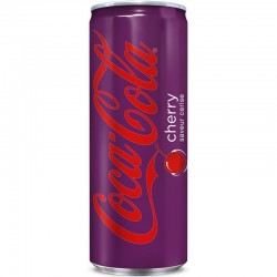 Coca-Cola Cherry canette 50 cl