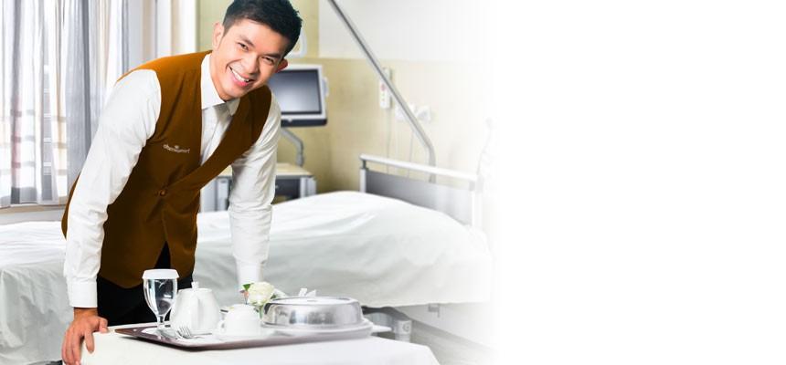Hospicado, c'est aussi un service en chambre pour les patients